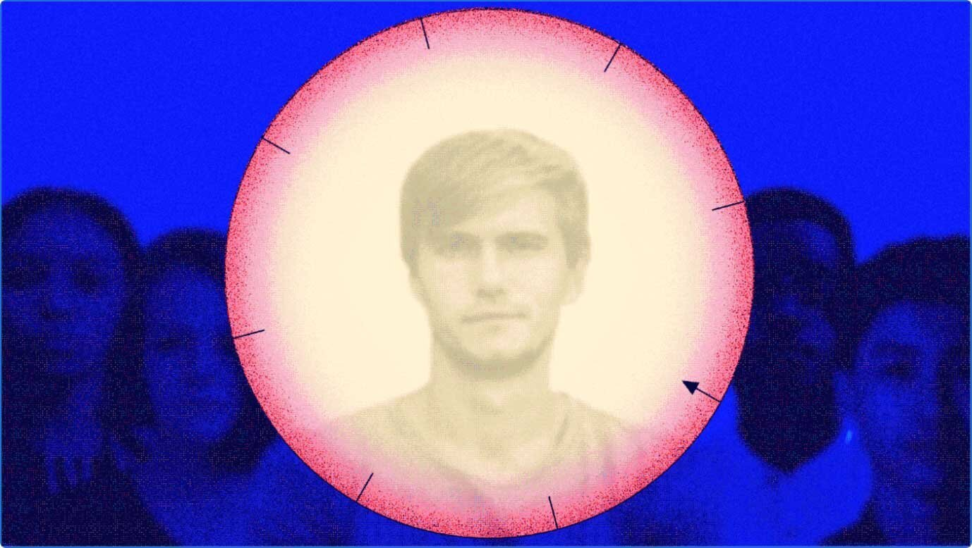 Image of a human in the centre of a dial graphic - image courtesy of Rebecca Zisser