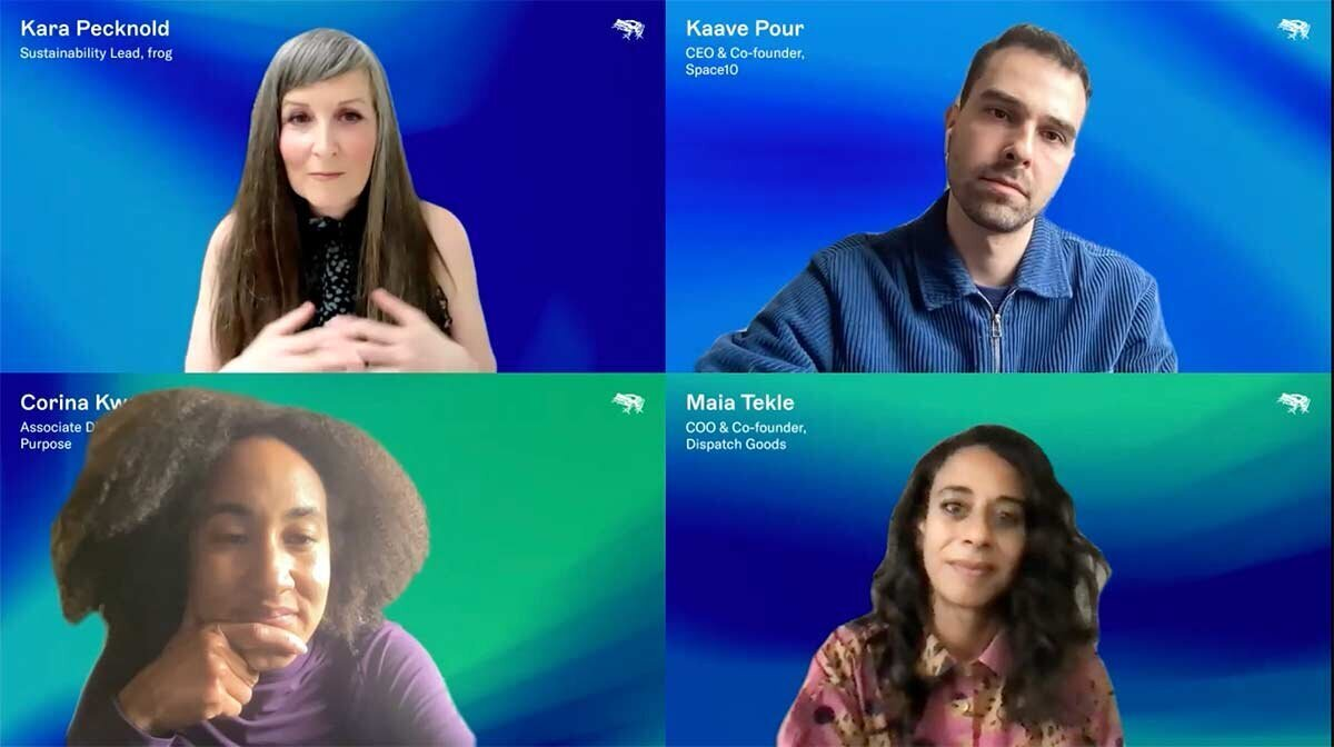 Screenshot of panel titled Meet Your New Customer: The Planet