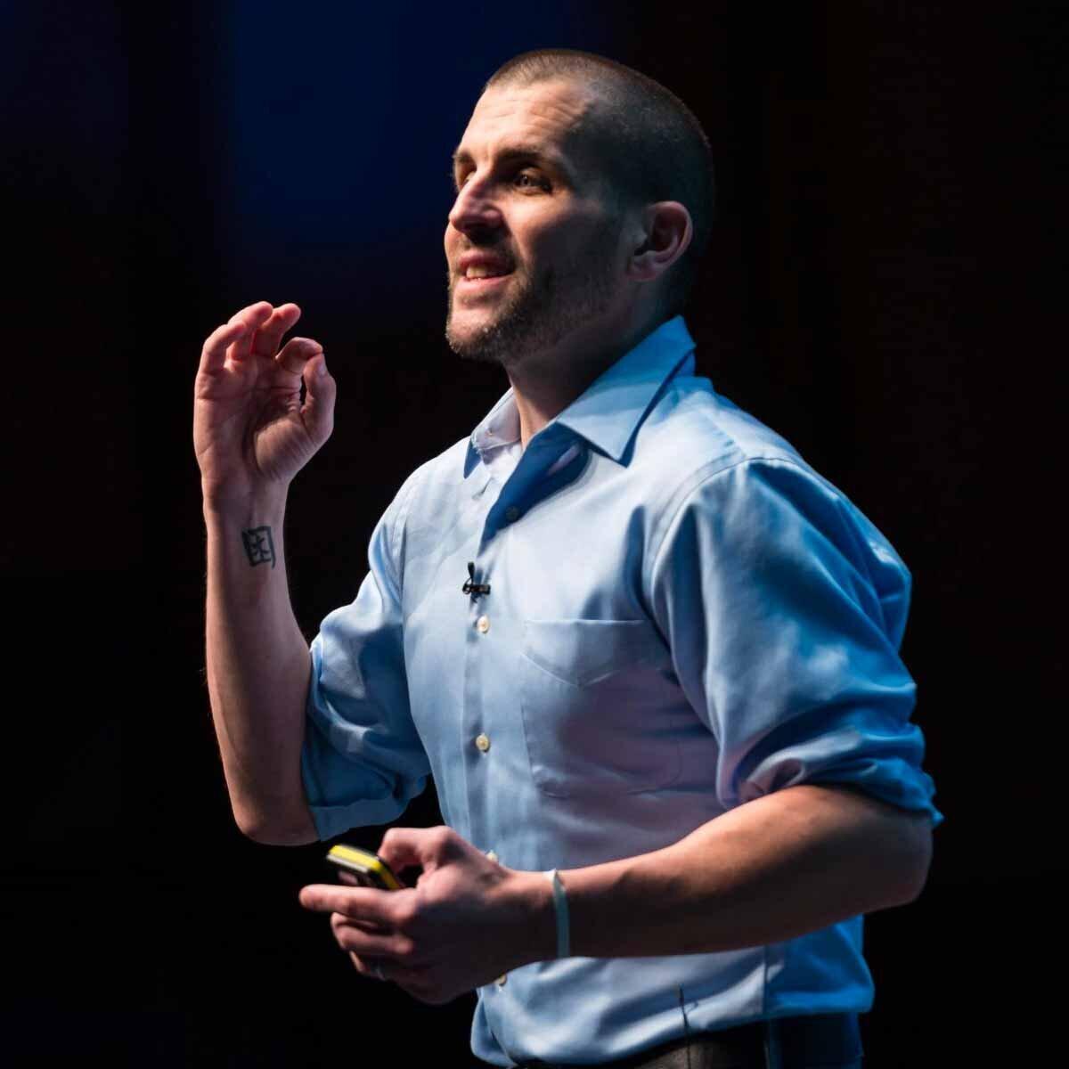 Photograph of Scott Berkun