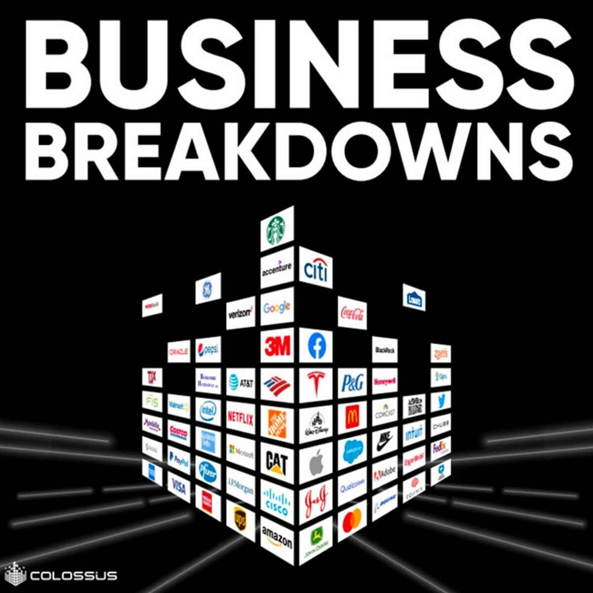 Business Breakdowns podcast cover image