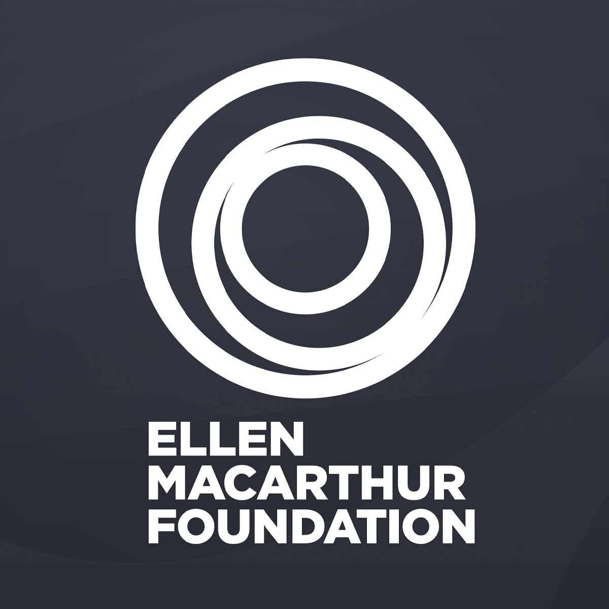 Logo for the Ellen MacArthur Foundation