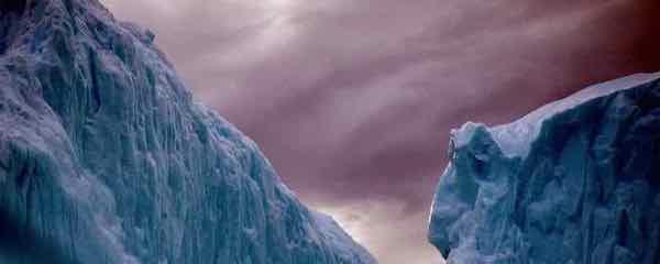 Some rare ice in Antarctica
