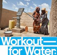 Workout for Water campaign